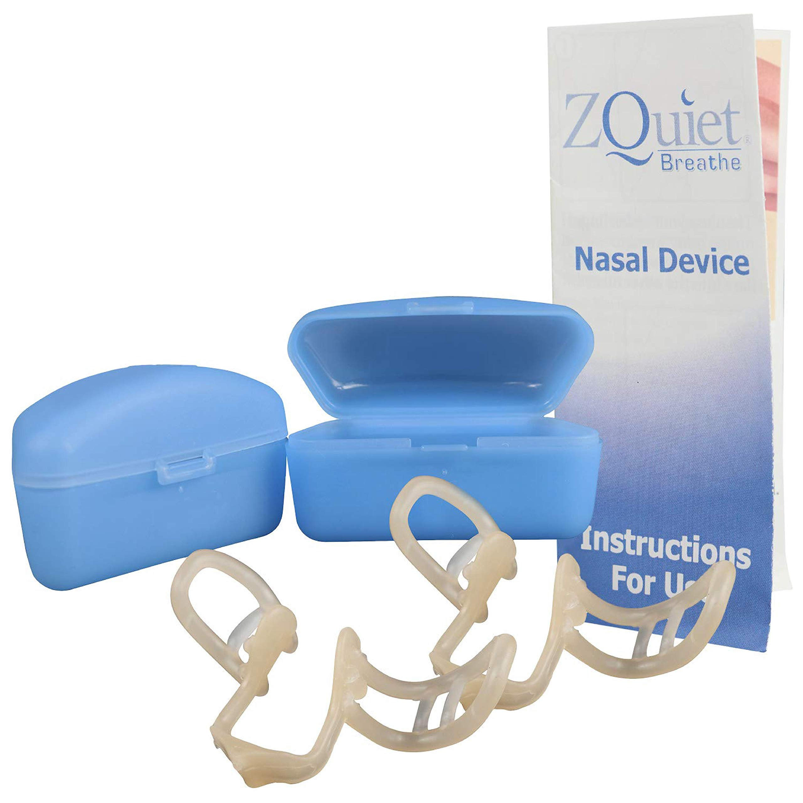 ZQuiet® Anti-Snoring Nasal Dilator with Case, 2ct. by ZQuiet