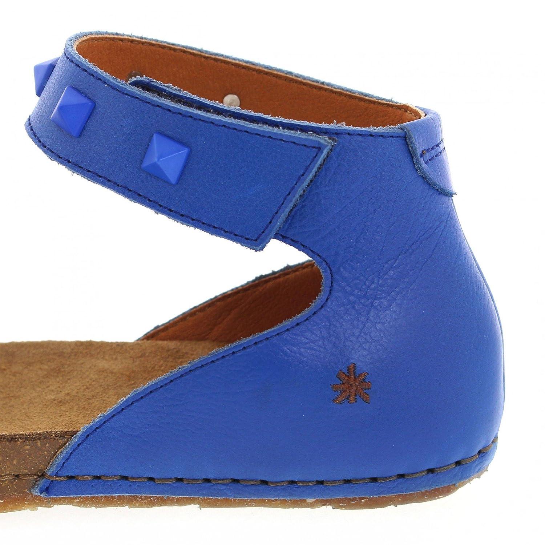 FB Fashion Stiefel Art 1251A Creta Sea LederSandalee für Blau Damen Blau für Sommerschuhe Sea 09385f