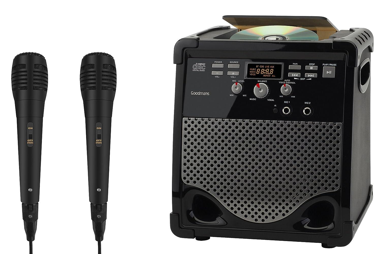 Goodmans XXB16CDGBT Karaoke Machine