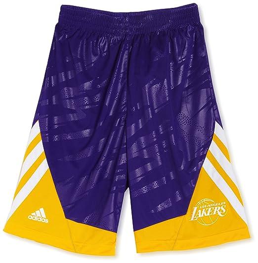 2 opinioni per Adidas La Lakers breve/smrn reversibile Pantaloncini Pantaloncini da basket,