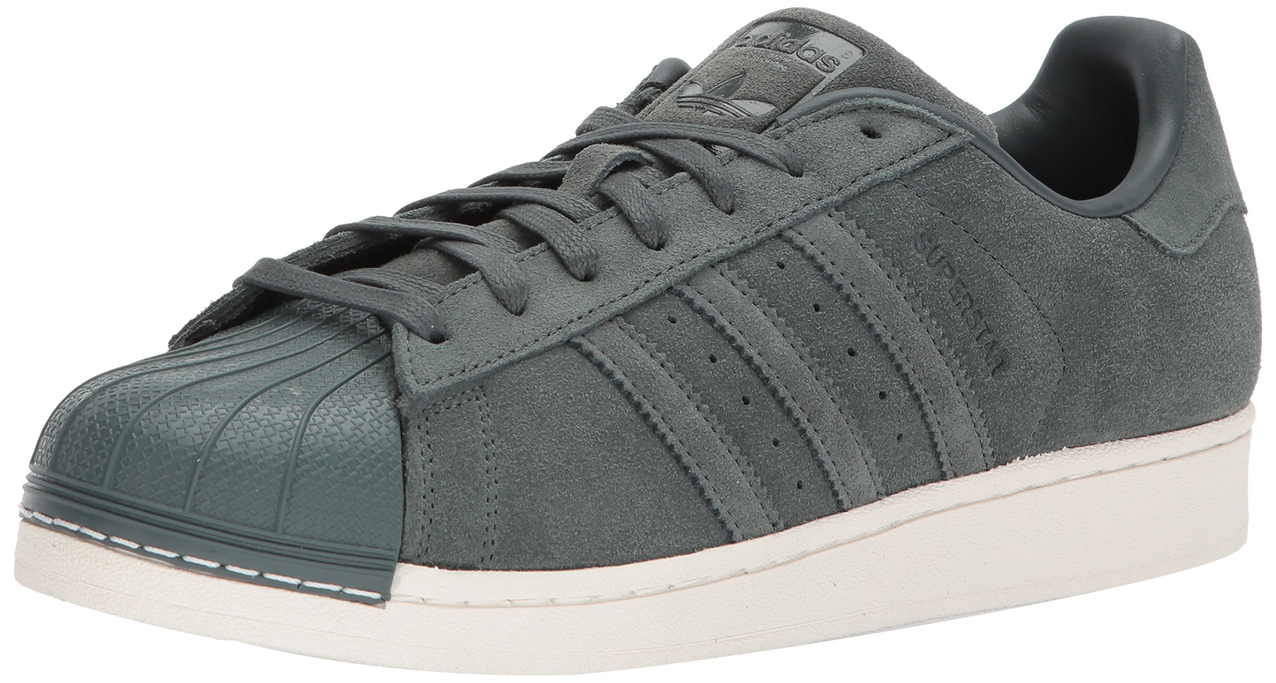 adidas Originals Men's Superstar Foundation Casual Sneaker, Green Night/Green Night/Green Night, 10 D(M) US