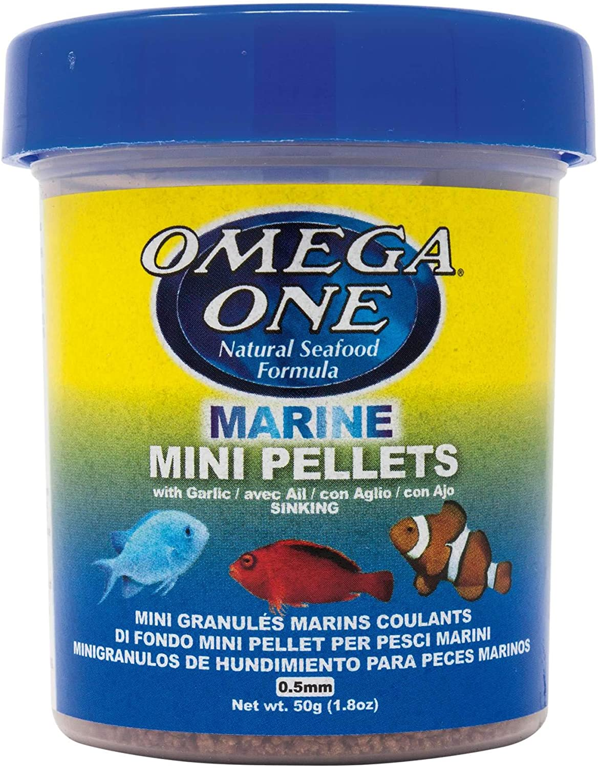 Omega One Garlic Marine Pellets, Sinking