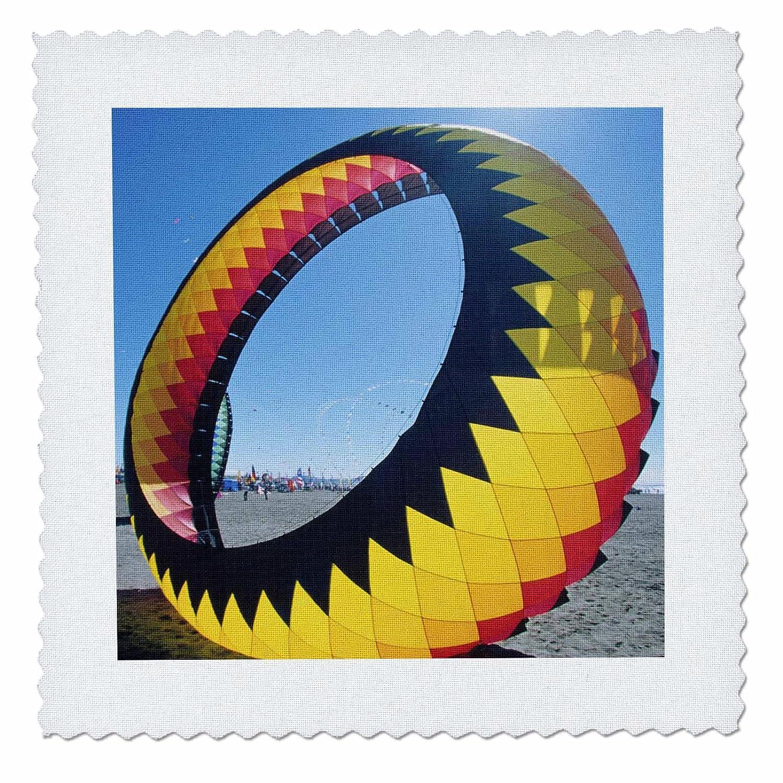 3dRose qs_95792_1 ワシントン、ロングビーチ、カイトフェスティバルUs48 Jme0383-John and Lisa Merrill-キルト正方形、10 x 10インチ   B00AGUC7OQ