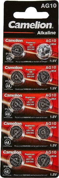 Camelion 12051010 Alkaline Knopfzellen Ohne Quecksilber Elektronik