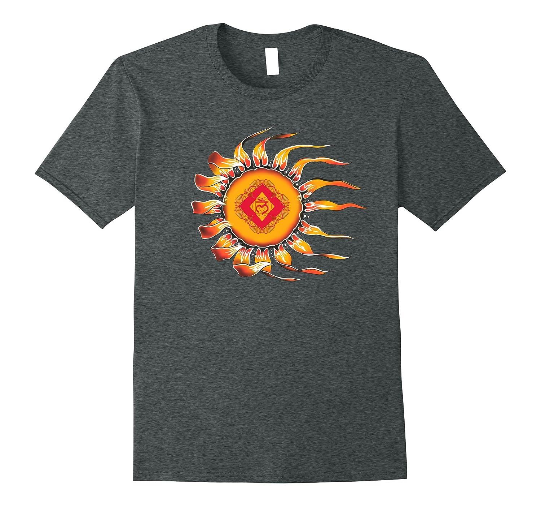 Sleepy Sun Muladhara Chakra Yoga Tshirt-FL