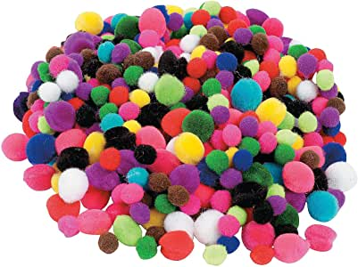 Tiny Pom Poms- 500 Pc - Crafts for Kids and Fun Home Activities