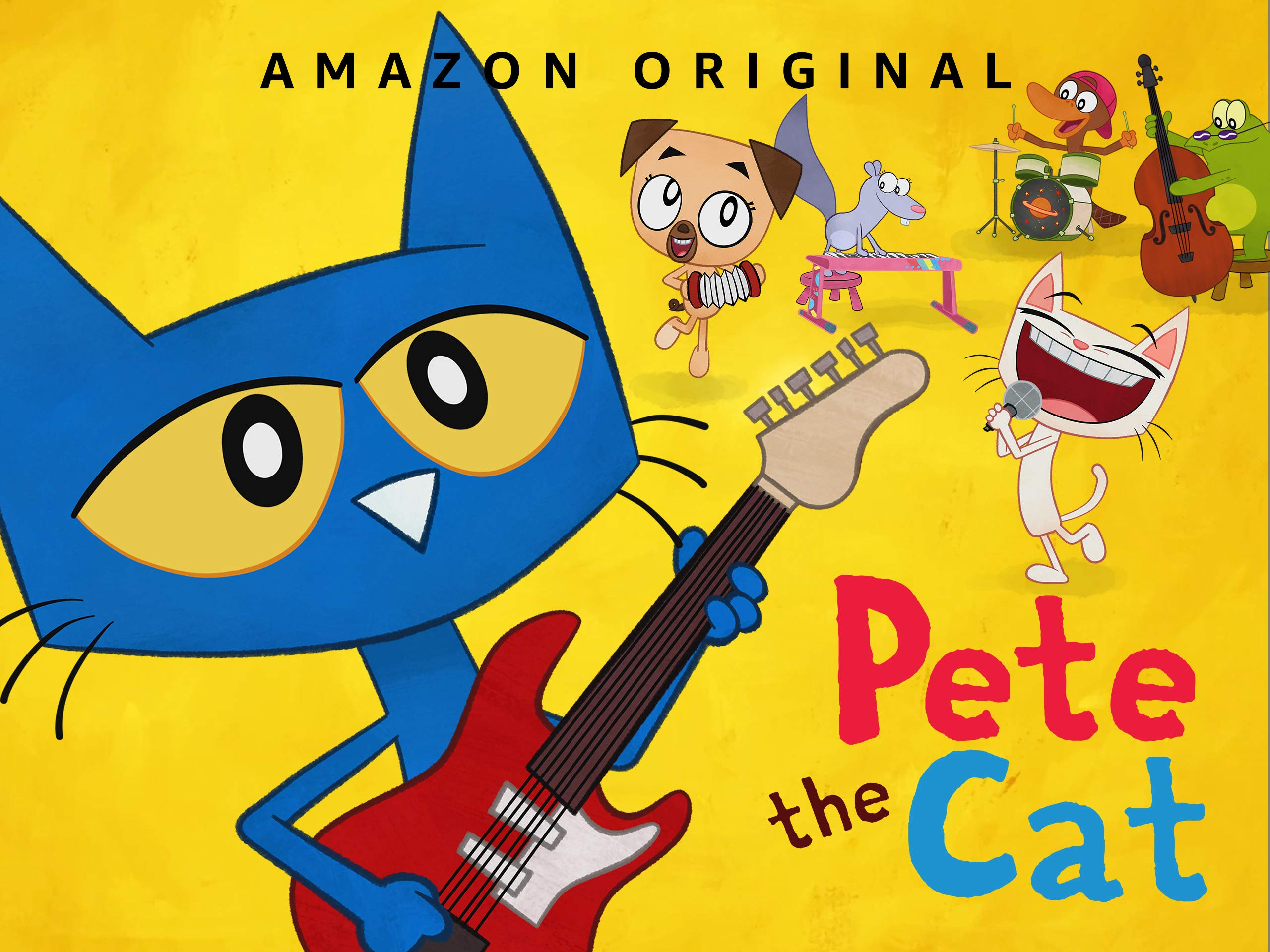 Pete The Cat Main Banner Clipart Of To Clip Art Rocking - Clipart Pete The  Cat, HD Png Download , Transparent Png Image - PNGitem