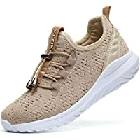Chaussures de Course Femme Fitness Baskets Mode Fille Garçon Running Sneakers