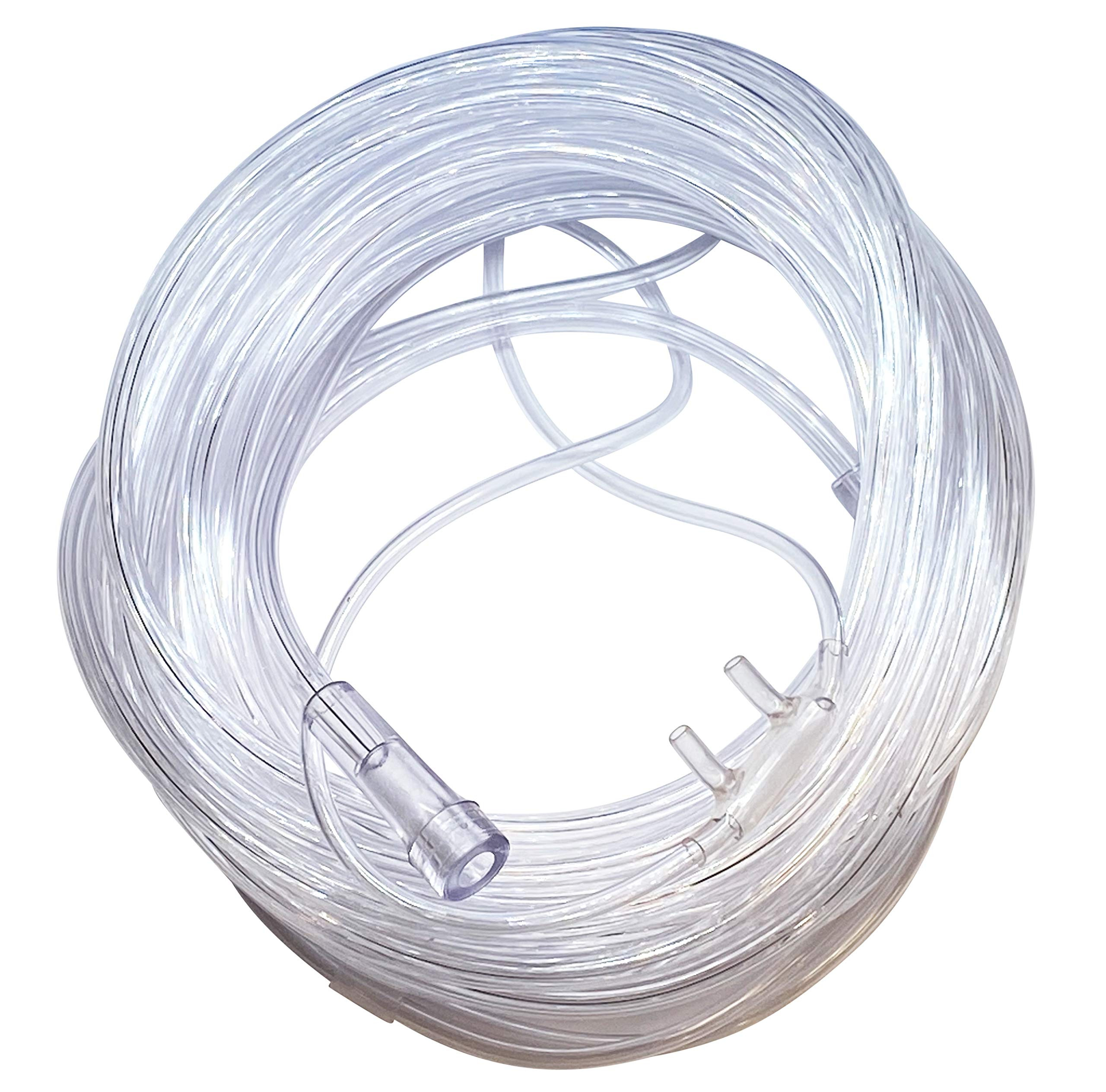 1-Pack Westmed #0195 Adult Comfort Plus Cannula with 25' Kink Resistant Tubing