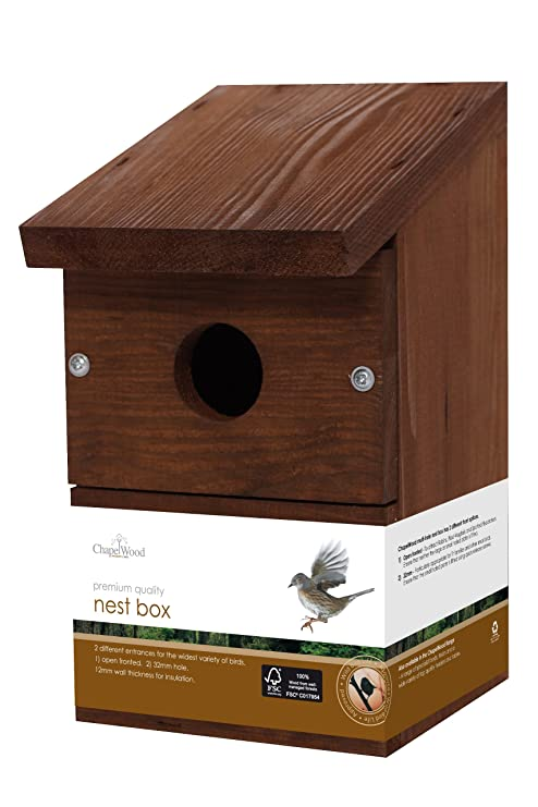 7383793d8c658 Chapelwood - Casa para pájaros  Amazon.es  Jardín