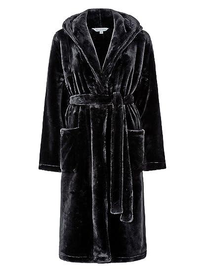Slenderella Ladies New Ultimate Luxury Super Soft Hooded Dressing ...
