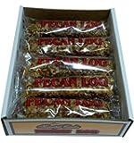 Pecan Logs Rolls - Crown Candy (12 Individually Wrapped 2.5 oz Pecan Logs Per Box)