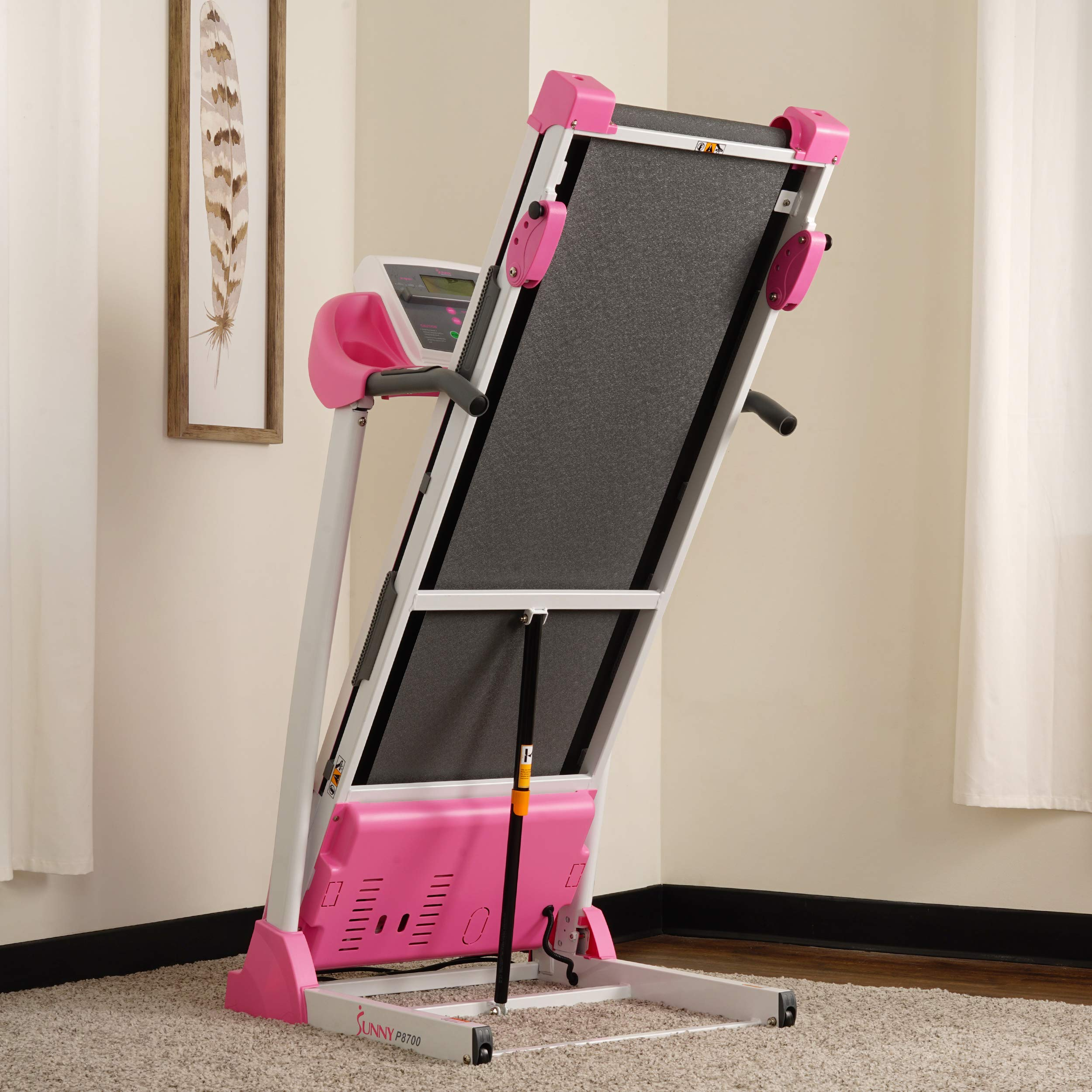 Sunny Health & Fitness P8700 Pink Treadmill by Sunny Health & Fitness (Image #12)