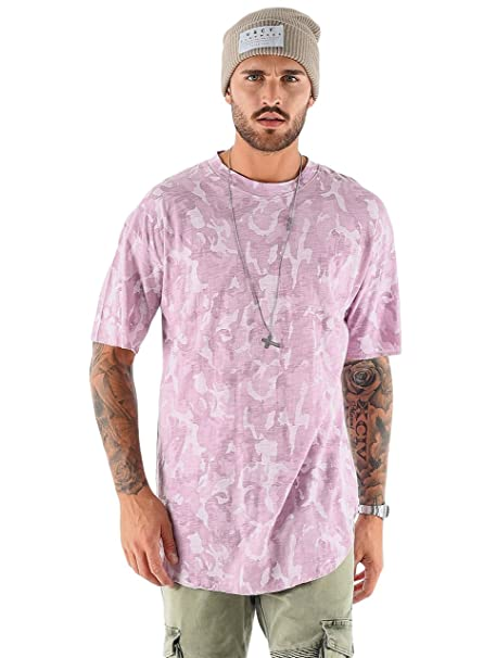 VSCT Clubwear Hombres Ropa Superior/Camiseta Camo Washed yeRKlcDs9