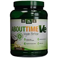 About Time Ve Chocolate Vegan Protein Powder, 2 Pound - 1 each.