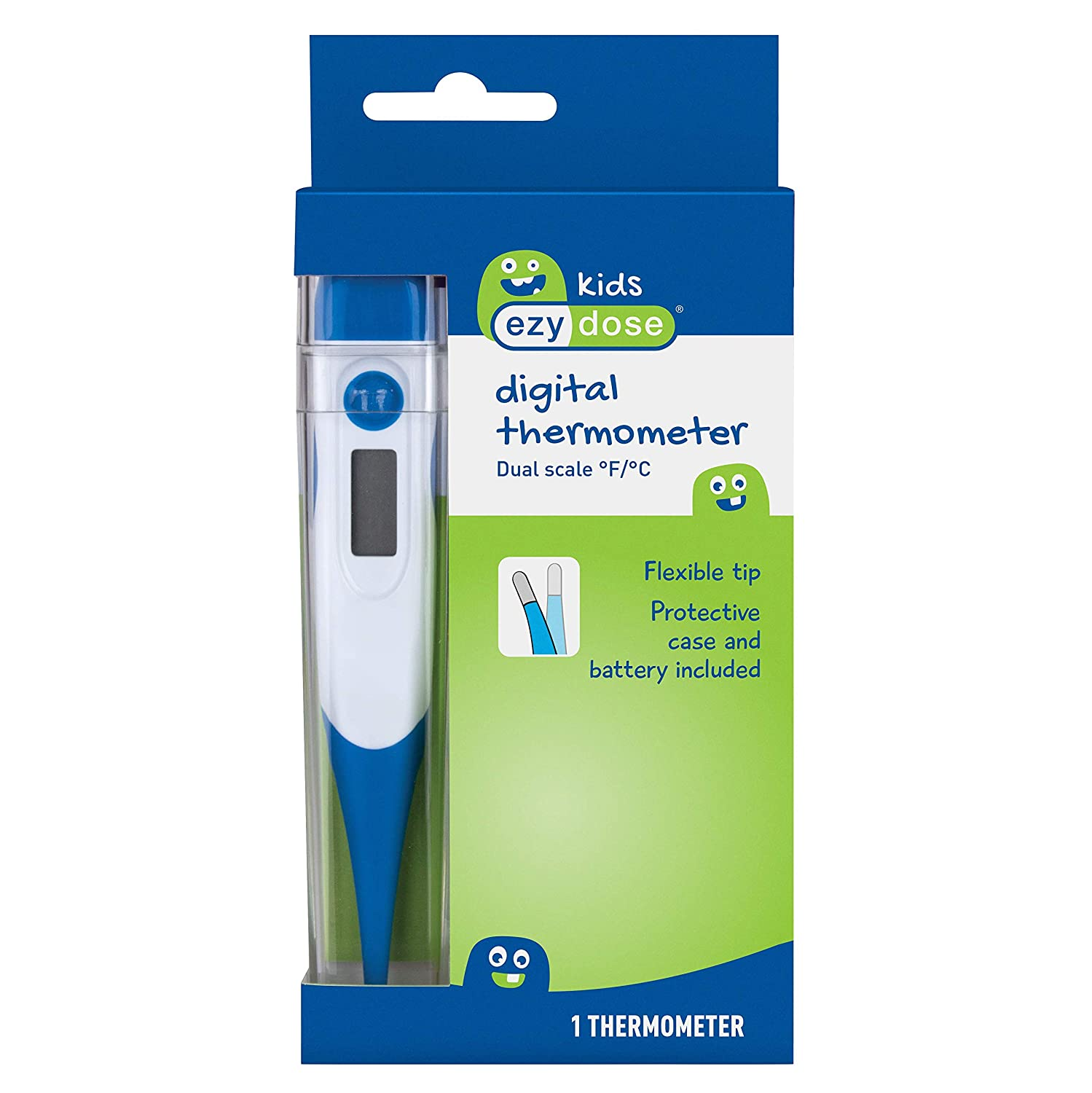 Amazon.com: Flents Dual Scale Digital Thermometer: Health & Personal Care