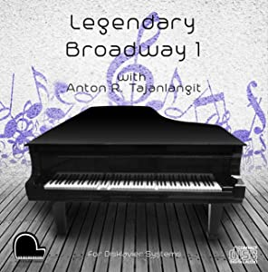 Legendary Broadway 1 - Yamaha Disklavier Compatible Player Piano CD