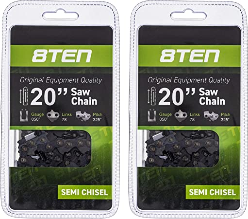 Size From Box Choose Your Model Chainsaw Saw  Pack Of 2 Fits MCCULLOCH