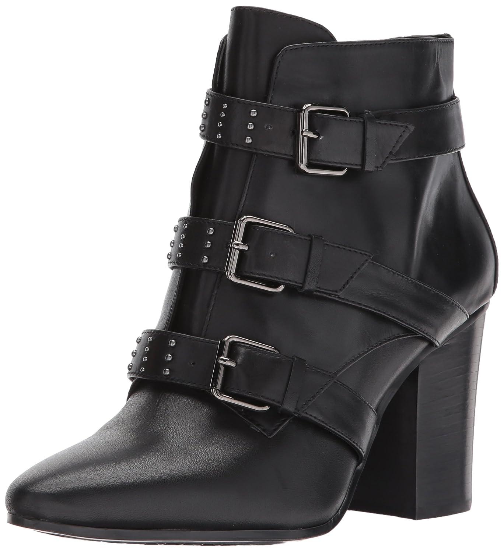 Aerosoles Women's Square Away Ankle Boot B06Y5VB1N7 7.5 B(M) US|Black Leather