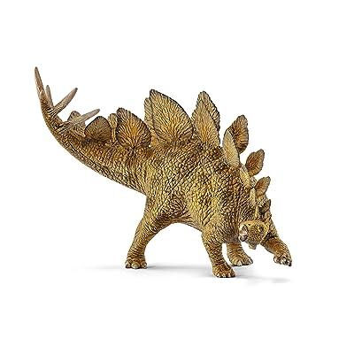 SCHLEICH Stegosaurus, Brown: Schleich: Toys & Games