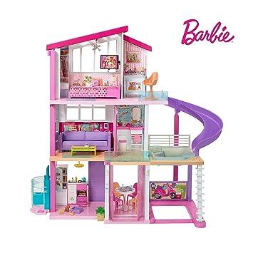 Barbie Estate Dreamhouse Adventures Large Three Story Dolls House