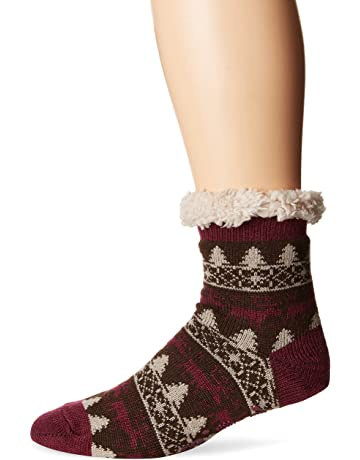 3ace3a98daf89 MUK LUKS Women's Pattern Cabin Socks