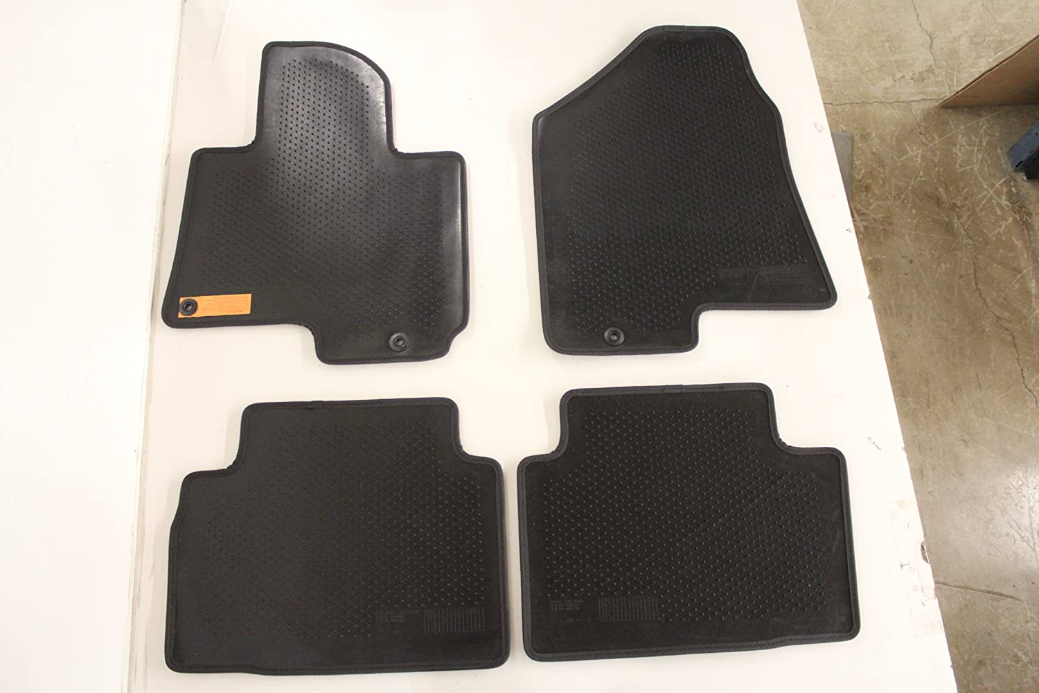 Genuine Hyundai Accessories 2SF14-AB0009P Black Front and Rear Carpet Floor Mat for Hyundai Tucson