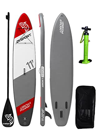 DVSPORT 11 pies Inflable Stand Up Paddle Board ISUP Paquete ...