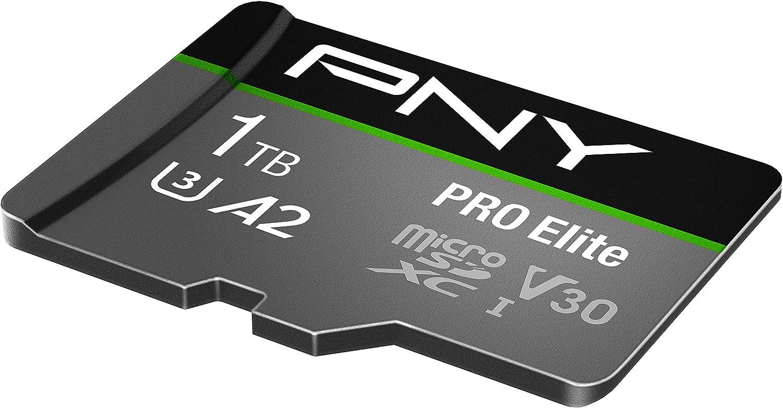 Pny Pro Elite 1tb Microsdxc Speicherkarte Sd Adapter Computer Zubehör