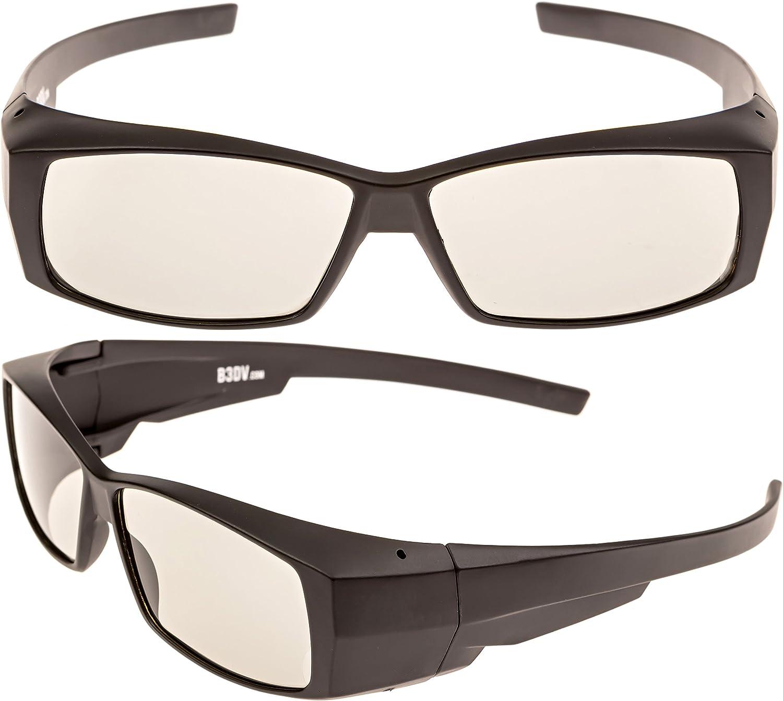 Better 3D View Pasivo 3D anteojos – Compatible con Todos los ...