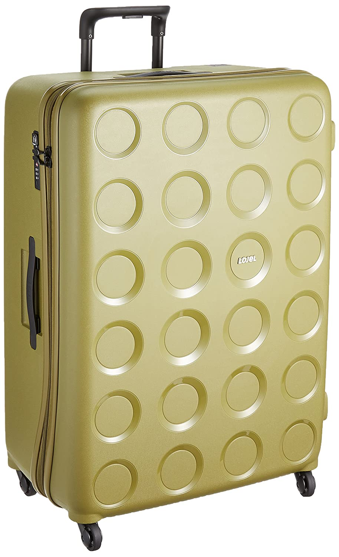 [ロジェール] スーツケース 保証付 117L 80cm 5.3kg VITA-L B0744F51TBオリーブグリーン