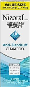 Nizoral A-D Anti-Dandruff Shampoo Value Size, 11 Ounce (7+4 oz)