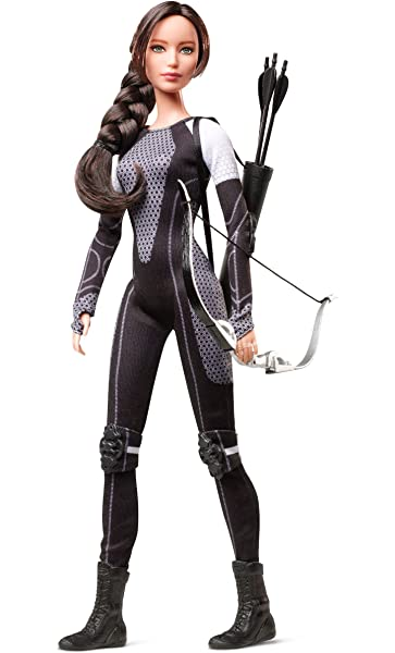 Amazon.es: Barbie Hollywood: The Hunger Games Katnis Muñeca ...