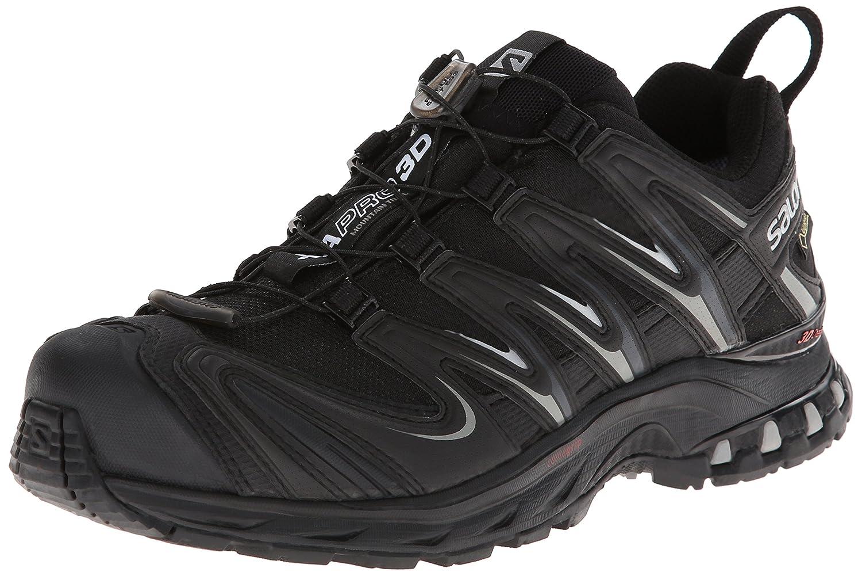 Salomon Xa Pro 3D Gtx - Zapatos para hombre, Black/Black/Pewter, 46 2/3 46 2/3 EU|Black/Black/Pewter