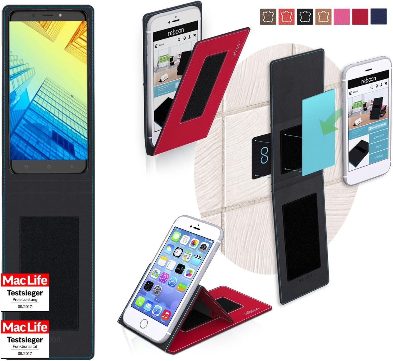 reboon Funda Alcatel A7 XL | in Rojo | Carcasa Multifuncional Case Cover: Amazon.es: Electrónica