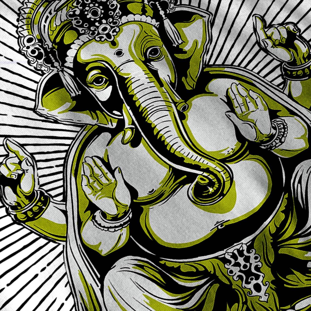 Wellcoda Spirituel Gu/érisseur Dieu Homme D/ébardeur Ganesha/ Chemise de Sport Actif