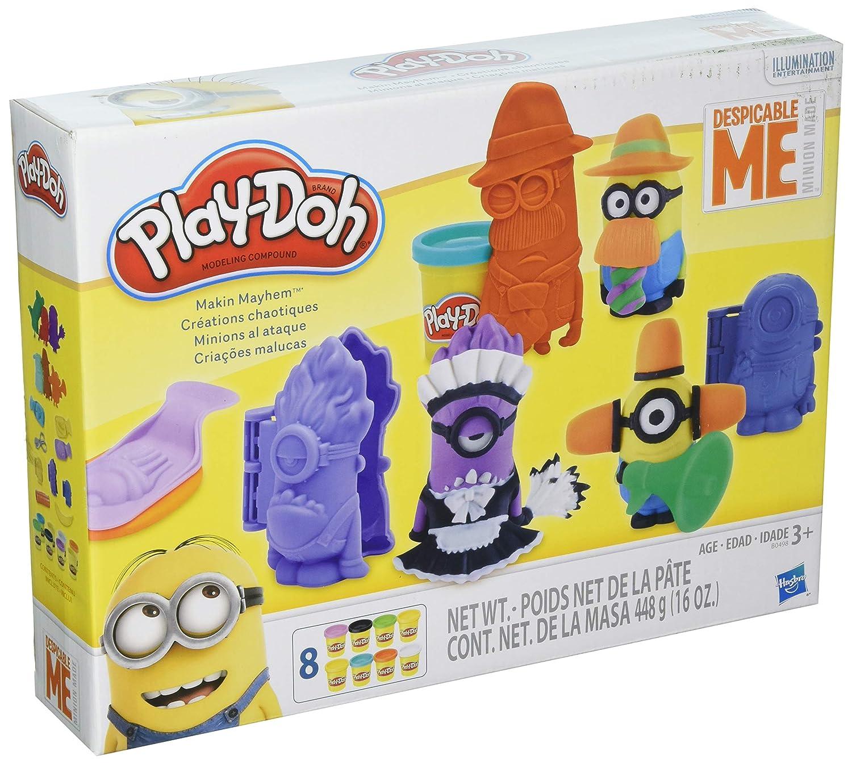 Play-Doh Makin Caos Set con Despicable me Minions: Amazon.es ...