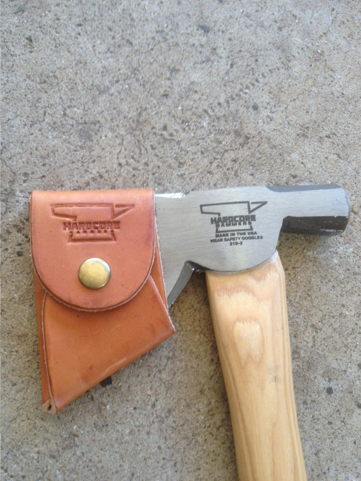 Hardcore Carpenter's Hatchet Sheath Only by Hardcore Hammers