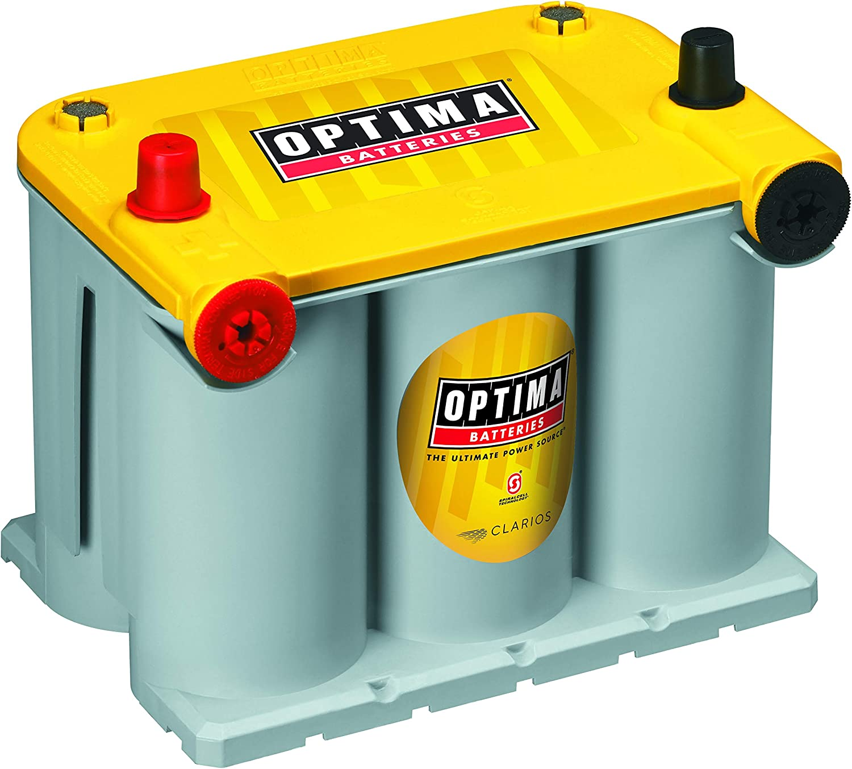 Optima Batteries 8042-218 D75/25 YellowTop Dual Purpose Battery