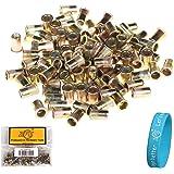 ZFE Mixed Pack Threaded Rivet Nut Inserts M4.M5. M6. M8.each 25pcs Total Pack of 100Pcs