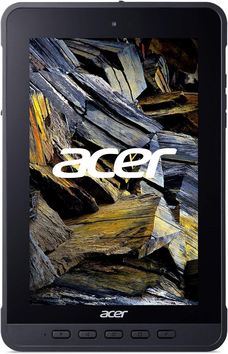"Acer Enduro T1 ET108-11A-80PZ Rugged Tablet, 8.0"" WXGA IPS Touch, MediaTek MT8385 Octa-Core Processor, 4GB LPDDR4, 64GB eMMC, WiFi-5, Front 2MP Webcam, Rear 5MP Webcam, Handstrap, Android 9 Pie"