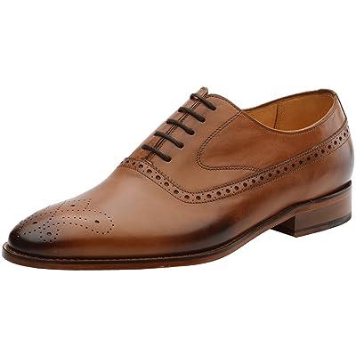 3DM Lifestyle Men's Brogue Leather Oxfords Shoes | Oxfords