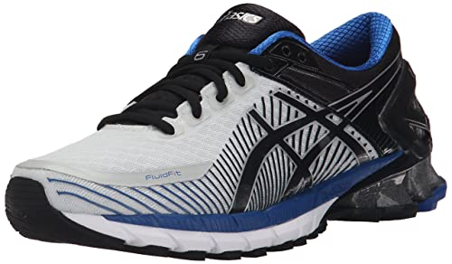 0540ad3b77c ASICS Gel-Kinsei 6 Running Shoe Silver Black Blue 7 D(M) US  Buy Online at  Low Prices in India - Amazon.in