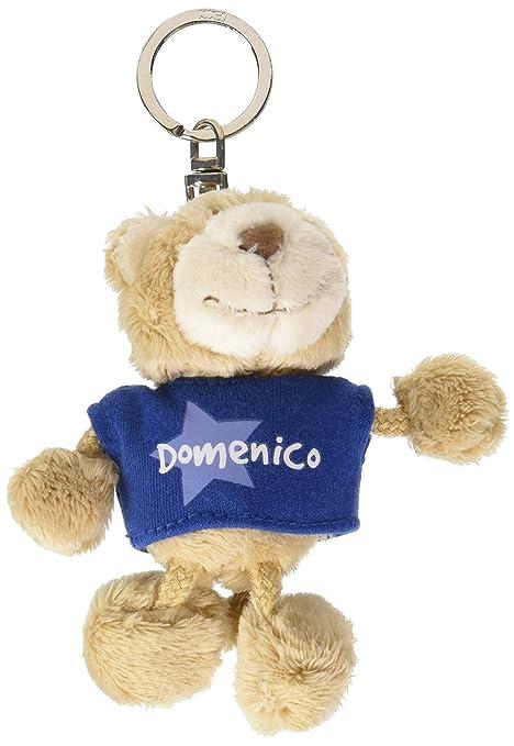 NICI n15863 - Llavero Oso con Camiseta Domenico, Azul ...