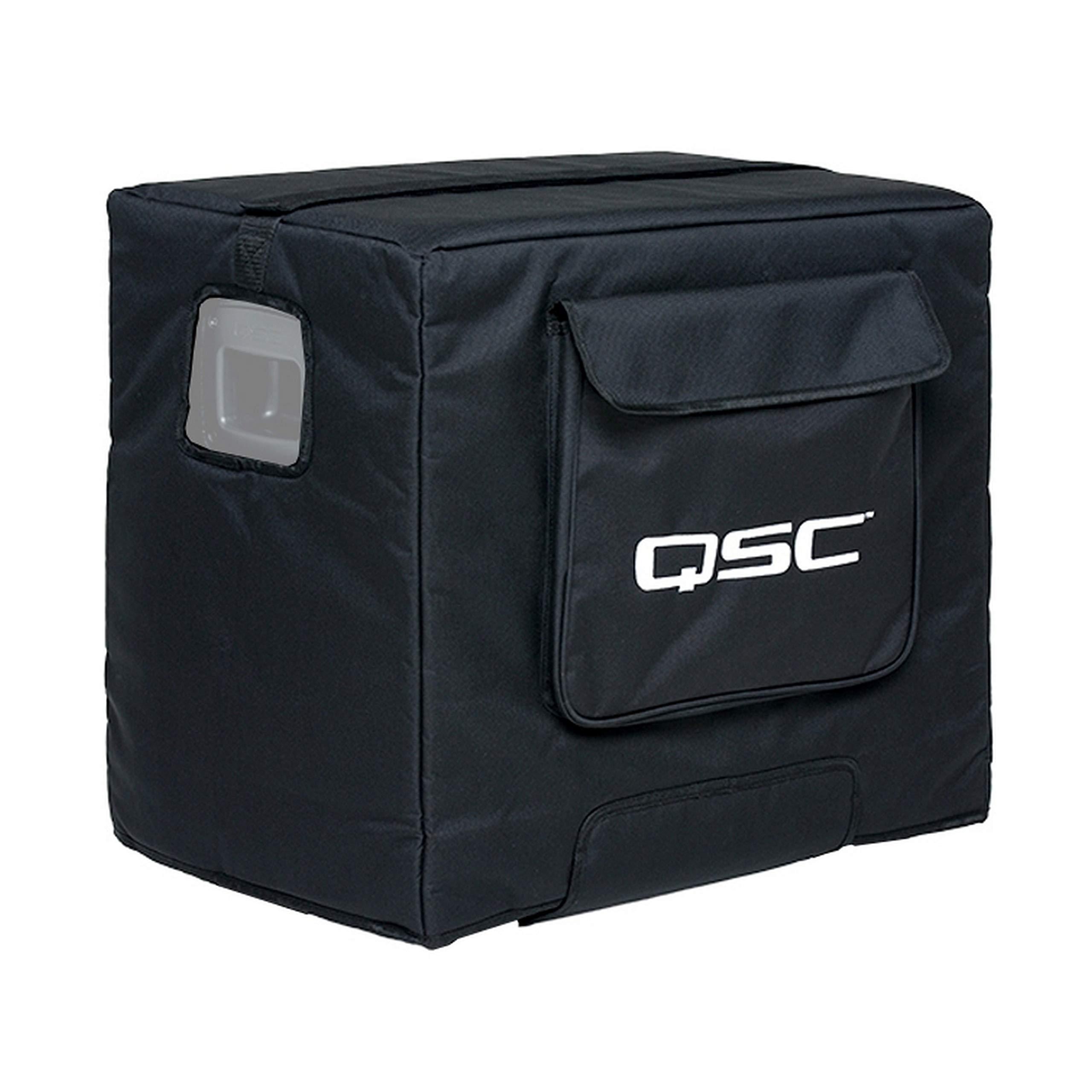 QSC KS112-CVR Weather Resistant Soft Padded Nylon/Cordura Cover