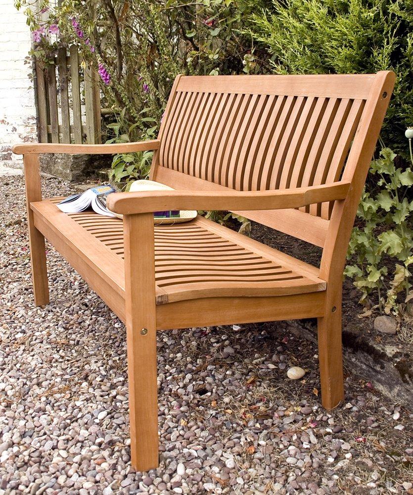 Amazon Com Bosmere Rowlinson A105 Willington Bench 34 Height X 28 Width X 48 Length Patio Lawn Garden