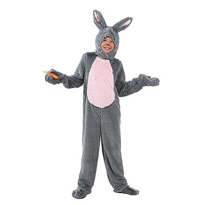Kid's Grey Bunny Costume Child Bunny Rabbit Costume: Clothing