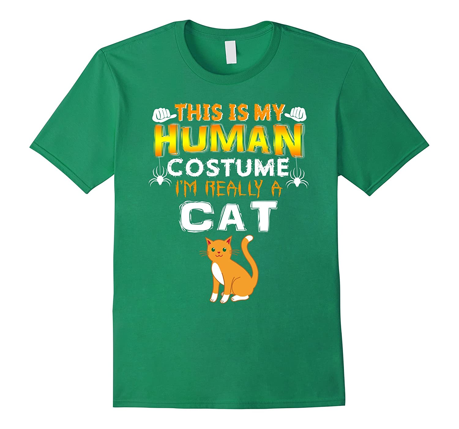 This Is My Human Costume I'm a Cat Halloween tshirt