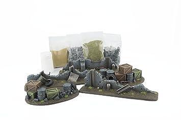 WWG War Torn City - Urban Battlefield & Basing Scenery Kit