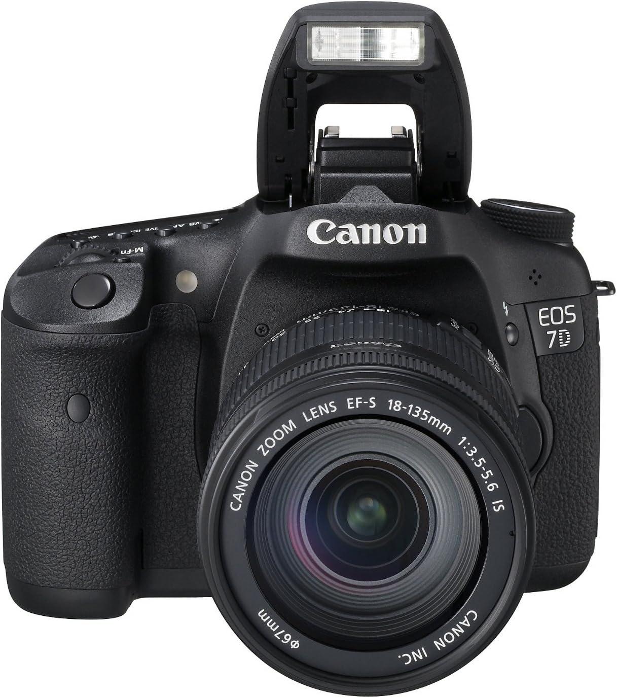 Canon EOS 7D + EF-S 18-135mm f/3.5-5.6 IS: Amazon.es: Electrónica